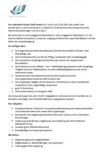 Stellenausschreibung_HospizKerpen_Koordination